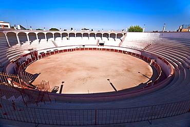High angle view of a bullring, Plaza De Toros San Marcos, Aguascalientes, Mexico