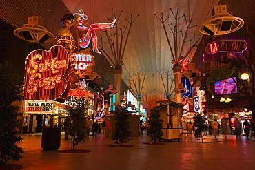 People walking in a casino, Las Vegas, Nevada, USA