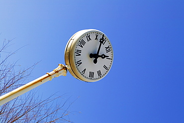 Low angle view of a clock, Spain