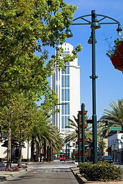 Skyscraper in a city, Orlando, Florida, USA