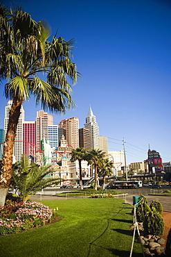 Skyscrapers in a city, Las Vegas, Nevada, USA