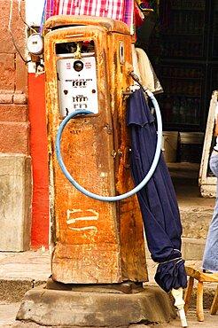 Close-up of a fuel pump, Mexico