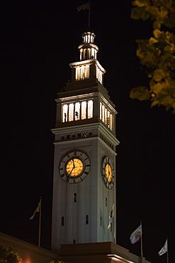 Low angle view of tower, San Francisco, California, USA