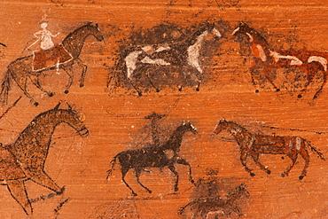 Petroglyphs, Canyon de Chelly National Monument, Arizona, Canyon de Chelly National Monument, Arizona, USA