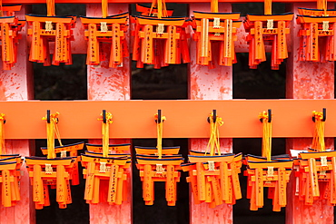 Offering gate, Fushimi Inari Shrine, Kyoto, Japan, Kyoto, Japan