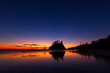 Second Beach, Olympic National Park, Washington, USA, Olympic National Park, Washington, USA
