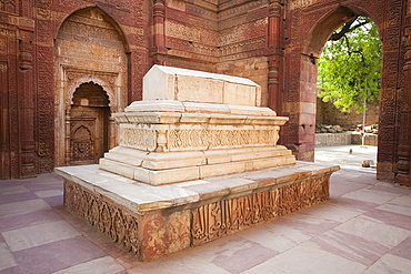 Stone Tomb of Iltutmish in India, Delhi, Punjab, India