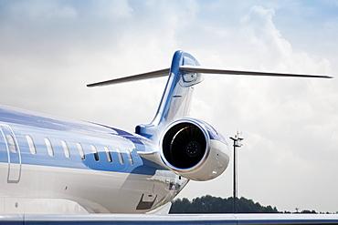 Jet Airplane Tail, Estonia