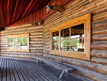 Wooden Porch at a Resort, Estonia