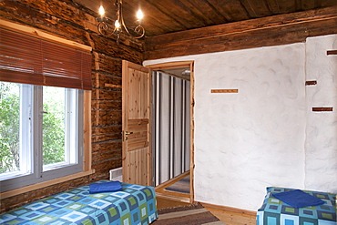 Beds in a Small Resort Bedroom, Estonia