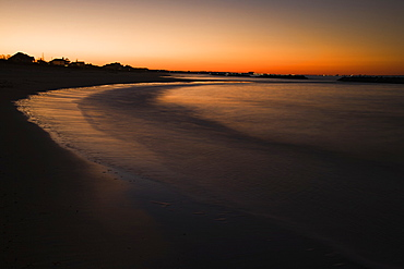 Beach At Sunset, Norfolk, Virginia, United States of America