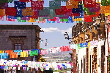 Paper Streamers, San Miguel de Allende, Guanajuato, Mexico