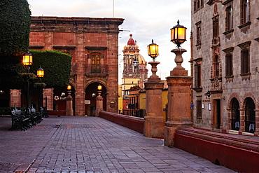 Street Scene, San Miguel de Allende, Guanajuato, Mexico