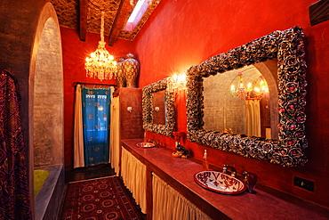 Mexican Bathroom, San Miguel de Allende, Guanajuato, Mexico
