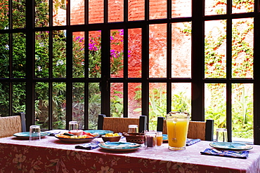 Breakfast Table, San Miguel de Allende, Guanajuato, Mexico
