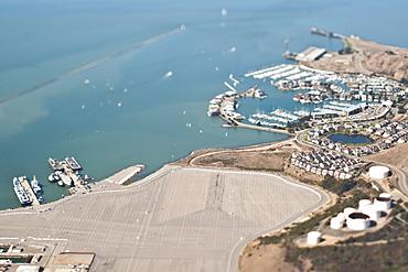 Port and Marina, San Francisco, California, United States of America