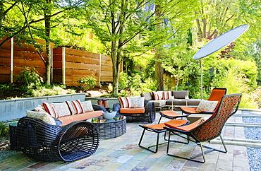 Patio living room, Seattle, Washington, United States of America