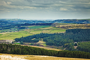 Holme Valley in England, Holme Valley, Kirklees, West Yorkshire, England, UK, Europe