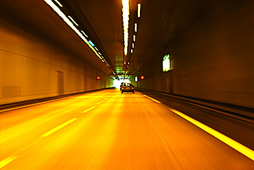 Autoroute Tunnel, France, Neufchatel Hardelot Tunnel, A, Normandy, France, Europe