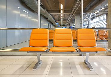 Seating at Airport, Bangkok Thailand
