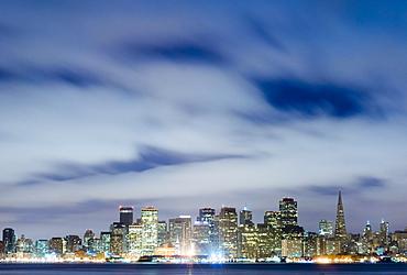 San Francisco Skyline from Treasure Island, San Francisco, California, United States of America
