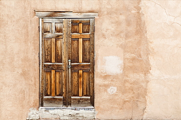 Old Wooden Doors, Santa Fe, New Mexico, United States of America