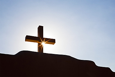 Cross and Sunburst, Taos, New Mexico, United States of America