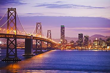 Bridge Leading to San Francisco, San Francisco, California, United States of America