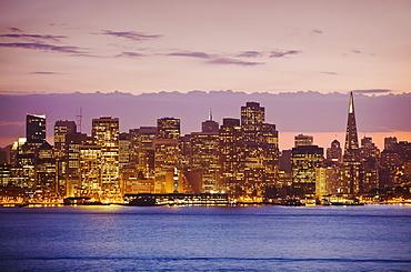 San Francisco Skyline, San Francisco, California, United States of America