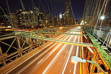 Bridge Leading to New York City, New York, New York, United States of America