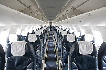 Empty airplane, Estonia