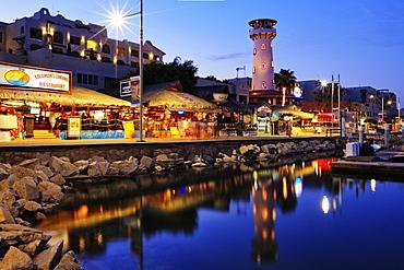Waterfront Town, Baja California, Mexico