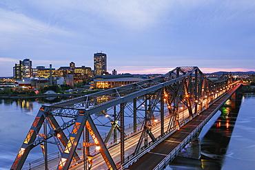 Bridge to City, Ottawa, Ontario, Canada
