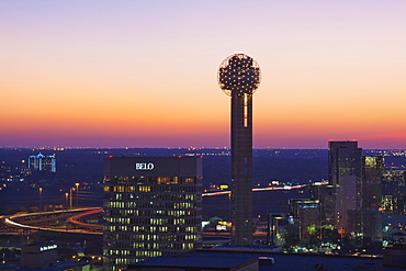 Dallas skyline, Dallas, Texas, United States of America