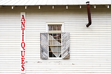Antique Store Facade, Louisiana, USA