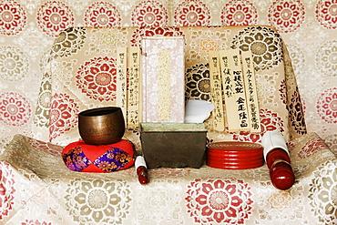 Shinto Altar, Honshu island, Japan, Asia