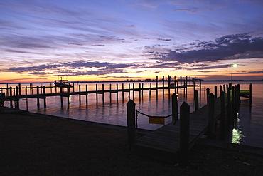 Dock at Dawn, Palmetto, Florida, USA