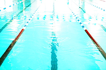 Swimming lane, Bradenton, Florida, USA