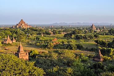 landscape with temples, Bagan, Myanmar