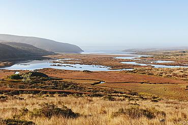 Schooner Bay, Drakes Estero, Point Reyes National Seashore, California, Marin County, California, United States
