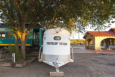 horse trailer Lamy, New Mexico