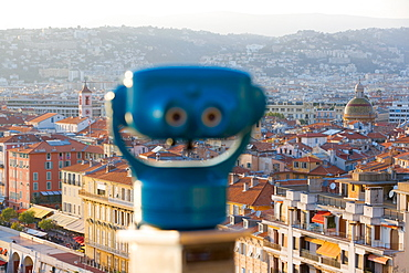 Overlooking Nice, Provence-Alpes-Cote d'Azur, France