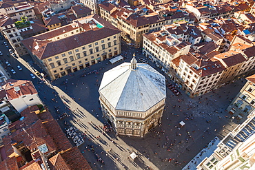 Baptistery of St John in Piazza del Duomo, Florence, Italy