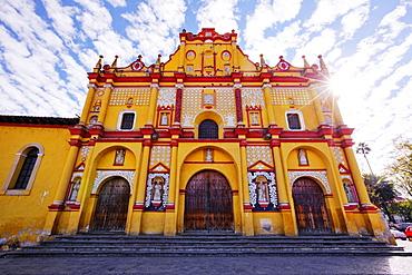 Colourful ornate church exterior