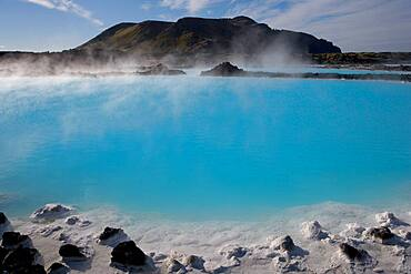 The Blue Lagoon a geothermal spa in southwestern Iceland