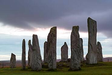 Callanish Standing Stones, Isle of Lewis, Outer Hebrides, Scotland, United Kingdom