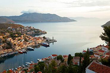 Symi Town, Symi Island, Dodecanese Islands, Greece