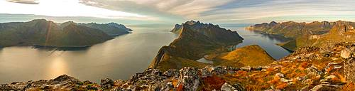 Scenic views on the Lofoten Islands, Norway
