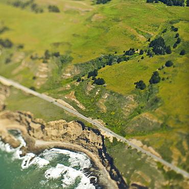 Coastal Hills and Cliffs, San Mateo, California, United States of America