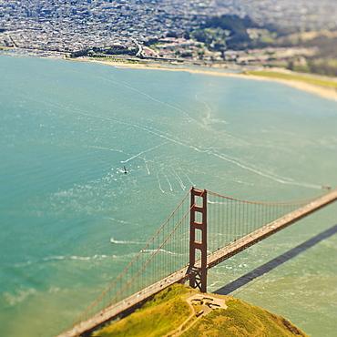 Golden Gate Bridge, San Francisco, California, United States of America